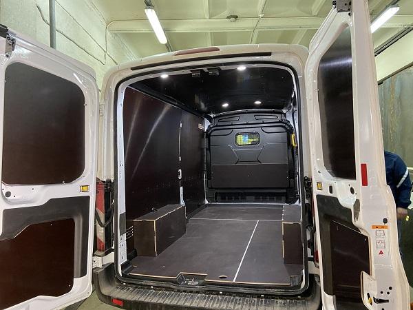обшивка для фургона Fiat furgonlab.ru
