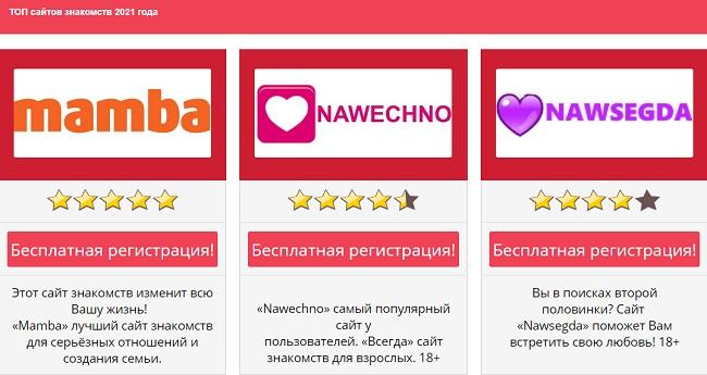 topdating.website - рейтинг знакомств